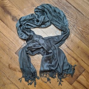 Charming Charlie Gray Scarf